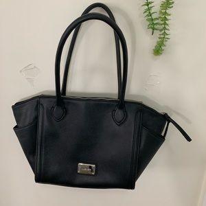 Nine West Black Shoulder Dress Hand Bag